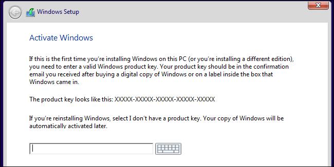 windows 10 key for free upgrade